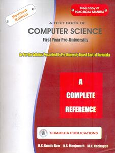 A Text Book Of Computer Science First Year P U