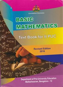 Picture of Basic Mathematics Text Book For Second PUC