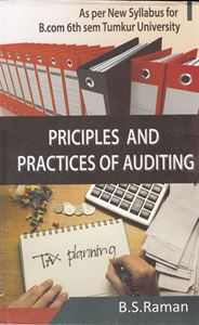 Principles And Practices Of Auditing For B Com 6th Sem Tumkur VV