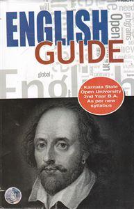 Picture of English Guide 2nd Year B.A As Per Kuvempu KSOU