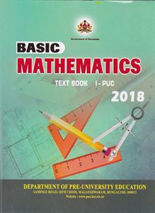 Picture of Basic Maths For First PUC Text Book